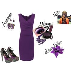 Purple Passion by luna-nativa on Polyvore