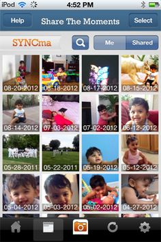 Share such great moments with your loved ones in no time with just one click. Try SYNCma today!