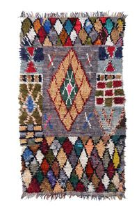 Image of Boucherouite Rag Rug - Harlequin