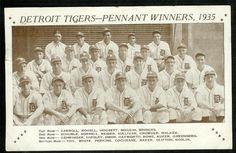 1935 Detroit Tigers
