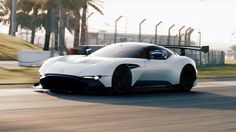 Watch Top Gear lap the Aston Martin Vulcan at Yas Marina