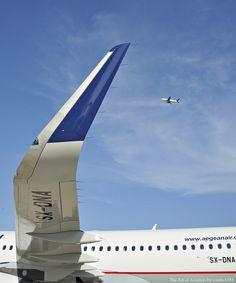 "AEGEAN A320-232SL F-WWBM, SX-DNA (MSN 6655) Athens International Airport ""Eleftherios Venizelos"" ATH/LGAV"
