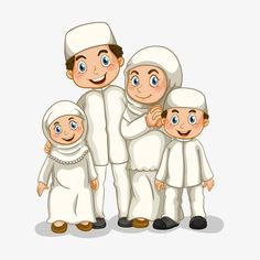 Young Muslim family figures vector illustration, Muslim, Character Illustration, Islamism PNG and Vector Family Picture Drawing, Family Picture Cartoon, My Family Picture, Couple Cartoon, Cartoon Pics, Cartoon Drawings, Family Illustration, Character Illustration, Family Vector