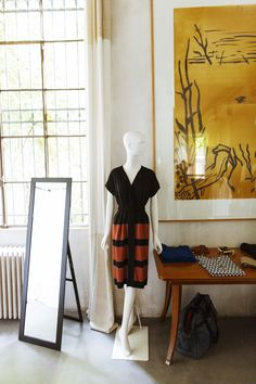 Stephan Janson – Fashion Designer at his studio in Milan « the selby