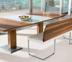 Stretto bench dining table image 4 - medium sized