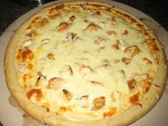 So craving Chicken Alfredo Pizza from Frankie's in Mays Landing.... YUM!!