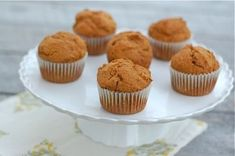 Recipe: Whole Spelt Pumpkin Muffins - 100 Days of Real Food Muffin Recipes, Snack Recipes, Cupcake Recipes, Healthy Recipes, Healthy Snacks, Healthy Breads, Kid Recipes, Fall Recipes, Bon Appetit