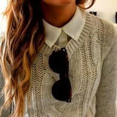 How to Chic: KNIT SWEATER