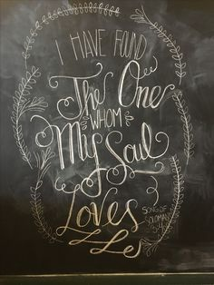 We have some fantastic chalkboard artists that are ready to take your favorite quote and turn it into a masterpiece for your wedding!
