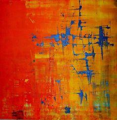 "Saatchi Online Artist: Sandra Eibler; ""Fire and Ice"""