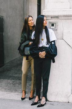 Topuktan geçmeli pantolon modelleri