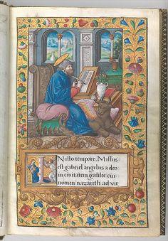 Heures de François Ier (1539-1540) François de Rohan Metropolitan Museum of Art, New-York)