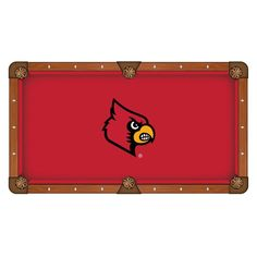Louisville Cardinals Pool Table Cloth