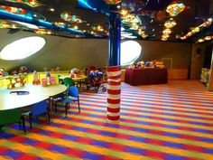 Pinocchio's Club is the home of Camp Carnival on the Carnival Miracle