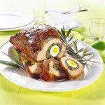 Tasca di vitello con uova sode e bietole