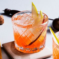 Brooklyn bartender Sofia Present created this riff on the Aperol Spritz, so you can drink the summer classic even as the days get shorter and the air gets colder.