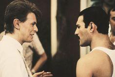 """Pistas vocales aisladas de Freddie Mercury y David Bowie en """"Under Pressure"""""""
