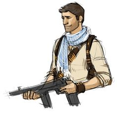 Nathan Drake by Fornax