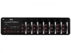 Controlador MIDI/USB 24 Botões - Korg Nanokontrol 2