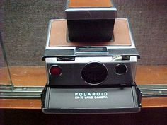 Chicago, Illinois; Circa 1950s? and. Polaroid SX-70 Land Camera