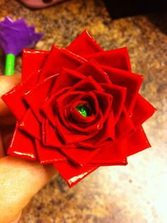 Duct Tape Flower Pen!! Only $3