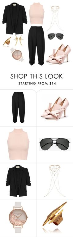 """""""Untitled #369"""" by chilosa3325 on Polyvore featuring Dolce&Gabbana, WearAll, Yves Saint Laurent, River Island, Olivia Burton and Wasson Fine"""