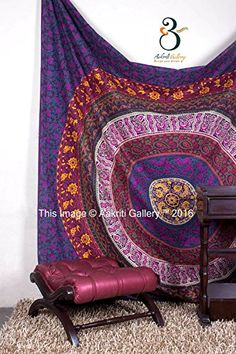 Tapestry Queen Multi Color Hippie tapestries Mandala Bohe... https://www.amazon.co.uk/dp/B01J1NI84Q/ref=cm_sw_r_pi_dp_x_8UX5xbPA94P83