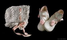 ANTIQUE BABY BONNET & BOOTS ... ca. 1915-20 | Flickr - Photo Sharing!
