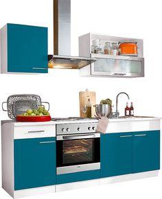 Küchenzeile »Ahus««, Breite 210 cm Jetzt bestellen unter: https://moebel.ladendirekt.de/kueche-und-esszimmer/kuechen/kuechenzeilen/?uid=f5941718-5819-58cc-b032-fa2f5c60eb8b&utm_source=pinterest&utm_medium=pin&utm_campaign=boards #kueche #kuechen #kuechenzeilen #esszimmer