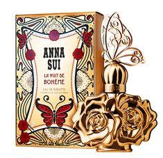 Anna-Sui-La-Nuit-de-Boheme- floral citrus rose oud patchouli fruity
