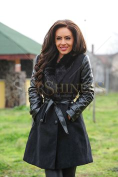 Fofy Heated Weather Black Coat