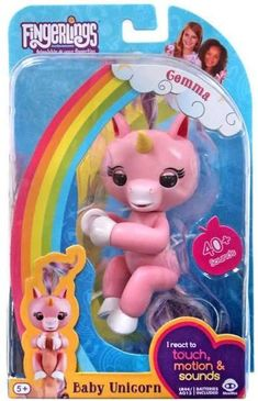 Fingerlings - Fingerlings Interactive Baby Unicorn Gemma - Brand New Baby Girl Toys, Toys For Girls, Baby Unicorn, Unicorn Party, Little Mermaid Toys, Barbie Kitchen Set, Wow Wee, Cute Baby Monkey, Party