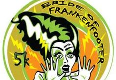 Oct 27, 2013 - Frankenfooter half marathon and Bride of Frankenfooter 5k, Starkey Wilderness Park