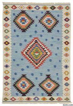 K0012177 New Turkish Kilim Rug | Kilim Rugs, Overdyed Vintage Rugs, Hand-made Turkish Rugs, Patchwork Carpets by Kilim.com