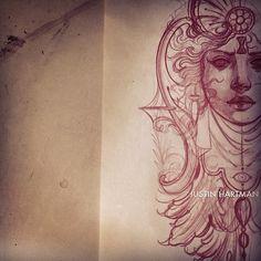 Tattoo Artwork by Justin Hartman