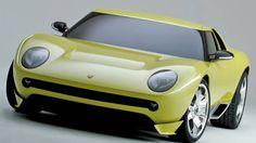 Photographs of the 2006 Lamborghini Miura Concept. An image gallery of the 2006 Lamborghini Miura Concept. Lamborghini Miura, New Sports Cars, Best Classic Cars, Performance Cars, Retro Cars, Future Car, Car Photos, Amazing Cars, Awesome