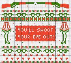 Christmas Story Cross Stitch Sampler by BlackVelvetStitches