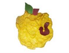 Puffy Apples Preschool Art Project