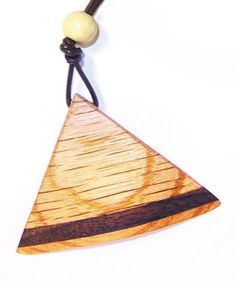 Wooden Wedge Necklace 15 by KevinWilliamson on Etsy