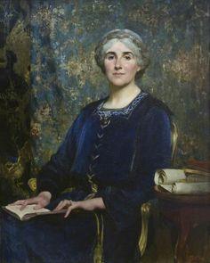 Nina Salaman (1918). Solomon Joseph Solomon (British, 1860-1927). Oil on canvas. Jewish Museum, London.