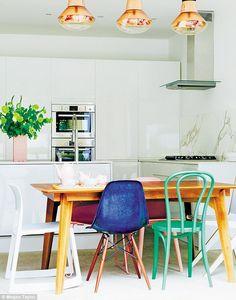 Howdens white kitchen