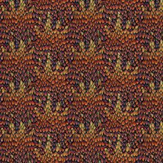 Jeweled Autumn Dragon fabric by glimmericks on Spoonflower - custom fabric