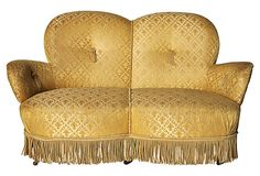 19th-C. Swedish  Loveseat on OneKingsLane.com This would love spectacular in my condo! I LOVE IT!!!!