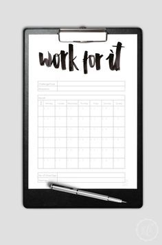 Free Goal Planning Printable | Kathie's Cloud