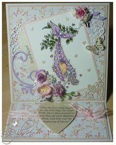 Handmade Cards - Lily of the Valley