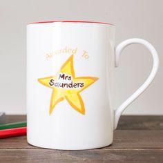 personalised teacher mug gettingpersonalcouk
