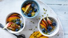 Back-to-school lunch box recipe: Healthy chia pots with fresh fruit