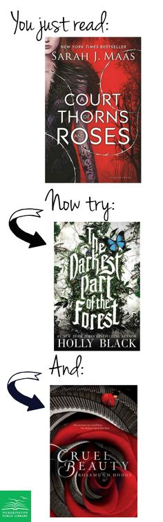 What to read next, if you love A Court of Thorns and Roses, by Sarah J. Maas