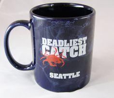 Collectible Mugs & Cups Deadlist Catch, Seattle Coffee, Discovery Channel, Mug Cup, Coffee Cups, Tea, Mugs, Coffee Mugs, Tumblers