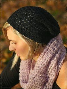 bandorka: Lehká homeless čepička Knitted Hats, Crochet Hats, Learn To Crochet, Winter Hats, Beanie, Homemade, Knitting, Label, Search